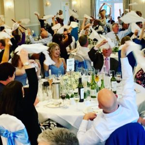 Singing Waiters Surprise Hampshire